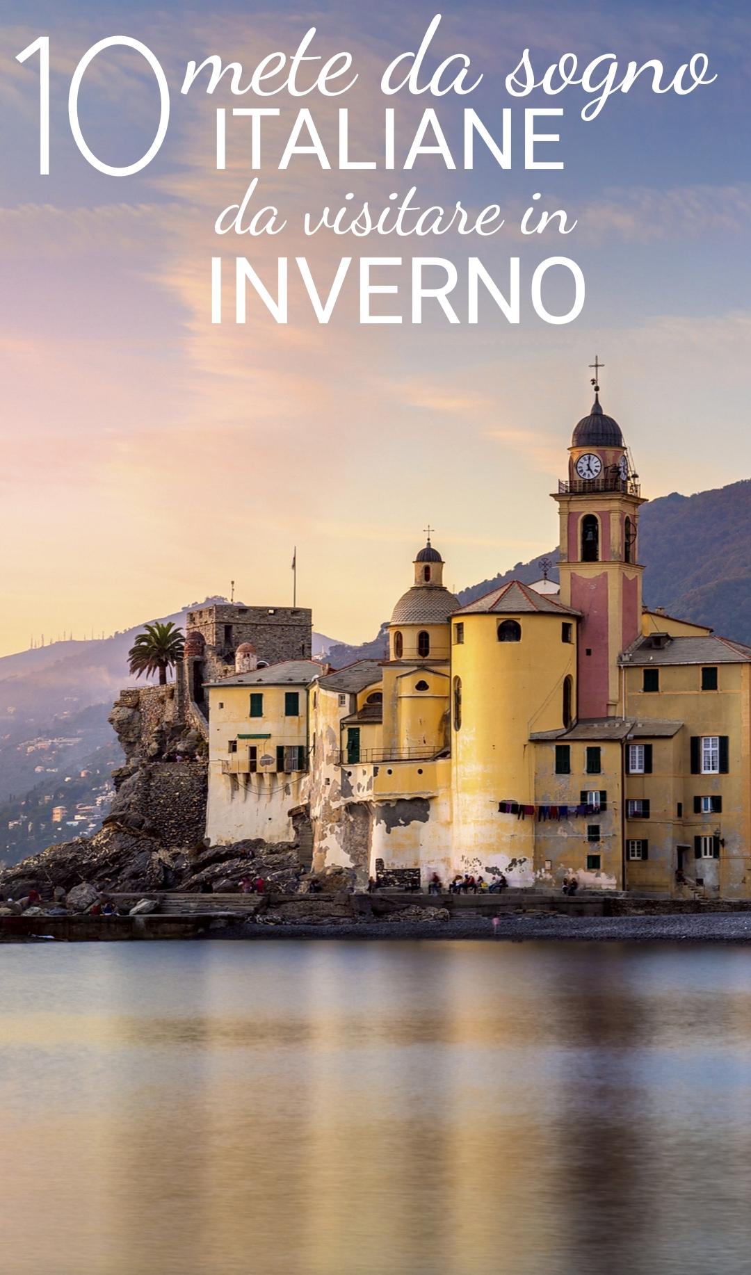 Dove andare in italia in inverno ecco 10 mete italiane da for Visitare in italia