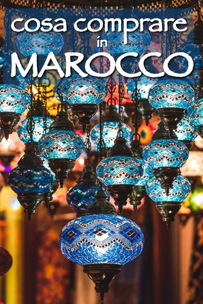 cosa comprare in marocco