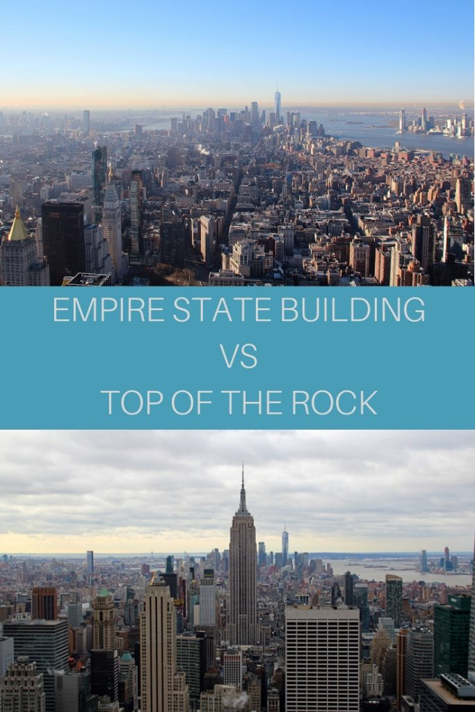 empire state building o top of the rock?