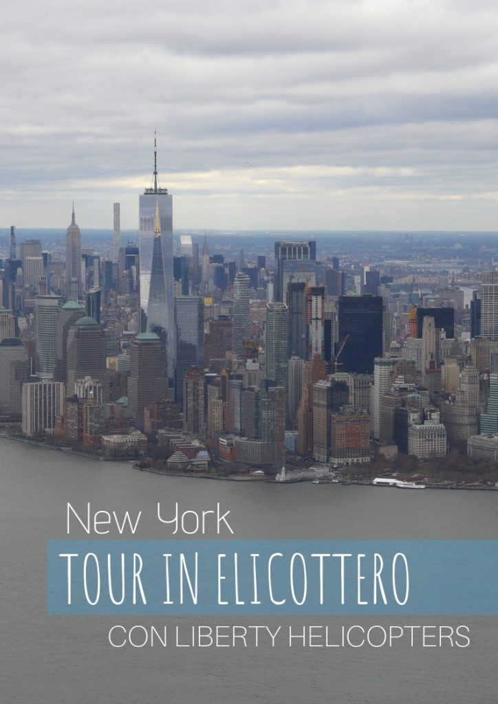 new york in elicottero