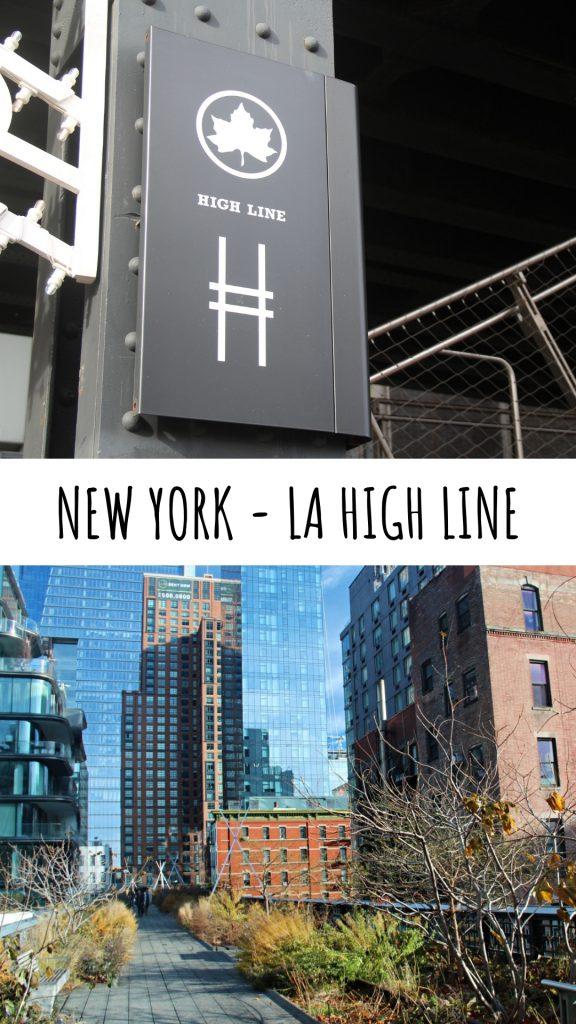 visitare la high line, high line new york