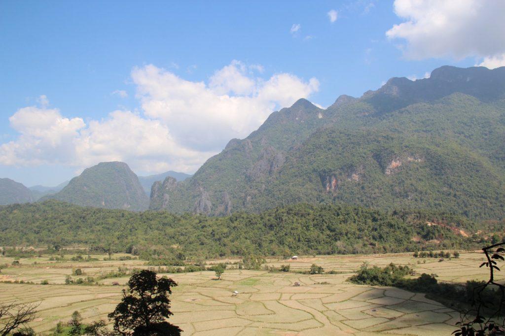 3 giorni a vang vieng, panorama dalla grotta della blue lagoon 3