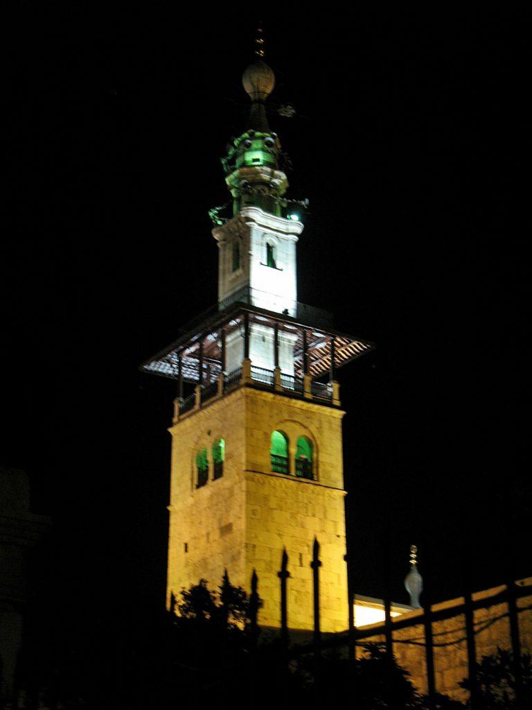 VIAGGIO IN SIRIA II PARTE - un minareto di notte