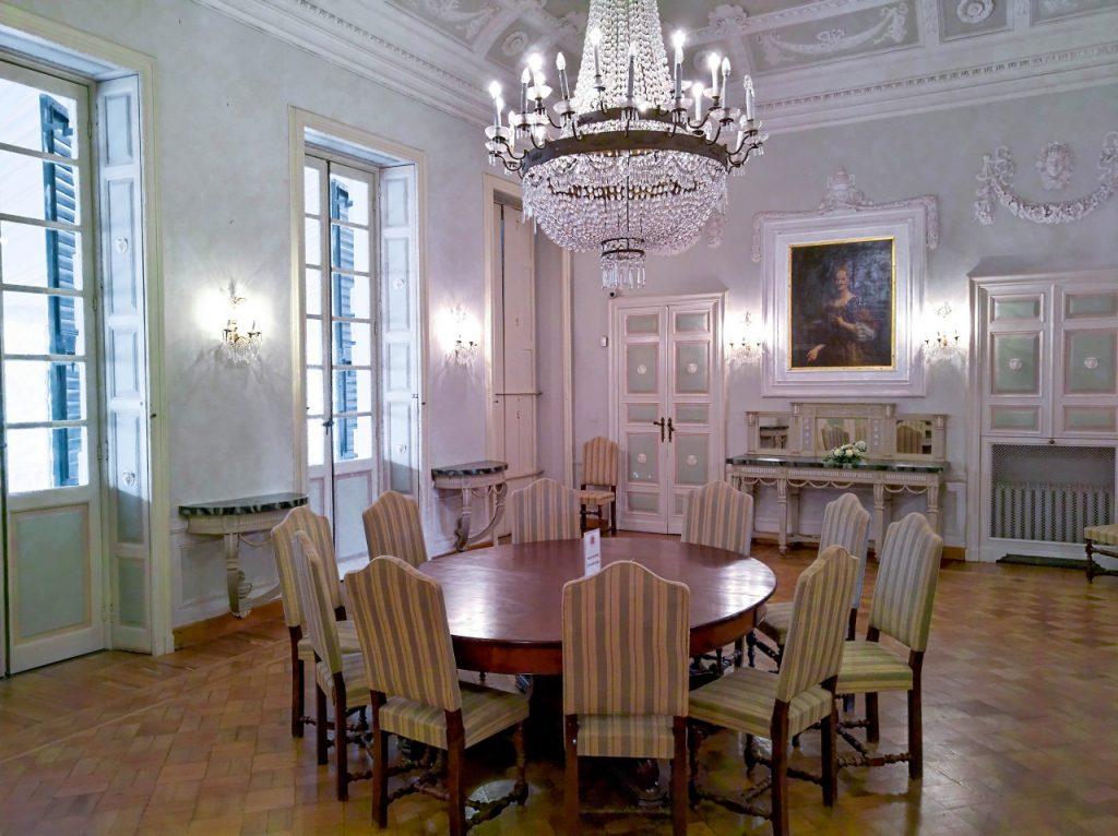 Villa Durazzo, gli interni