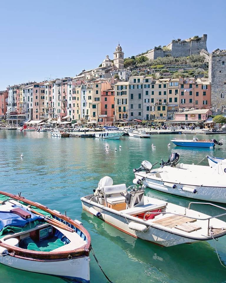 Portovenere in battello