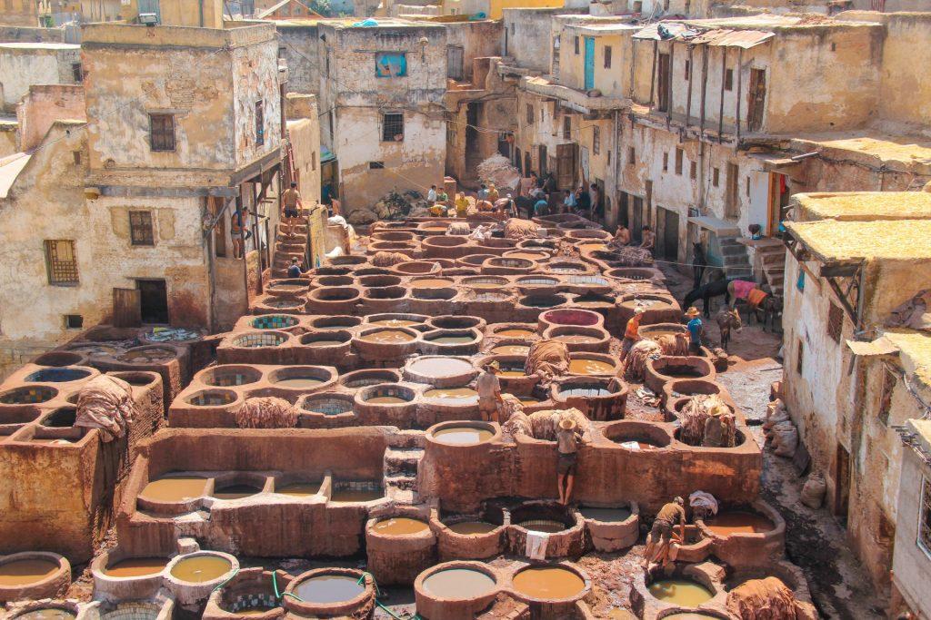 Marocco in 10 giorni - Fes Concerie Chouara