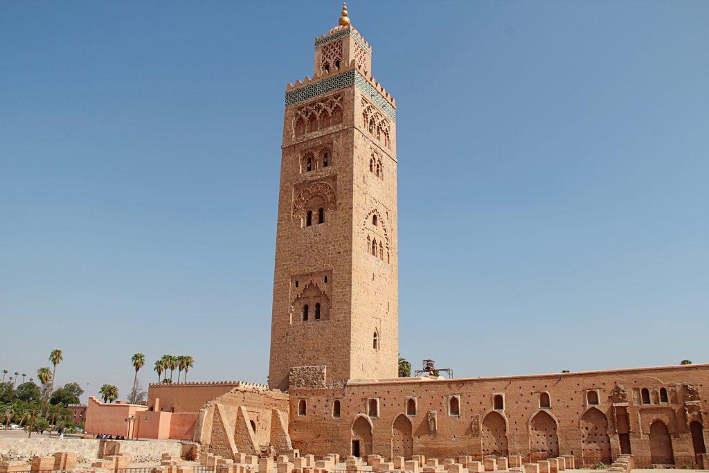 Marrakech, minareto della Koutoubia -  10 giorni in Marocco