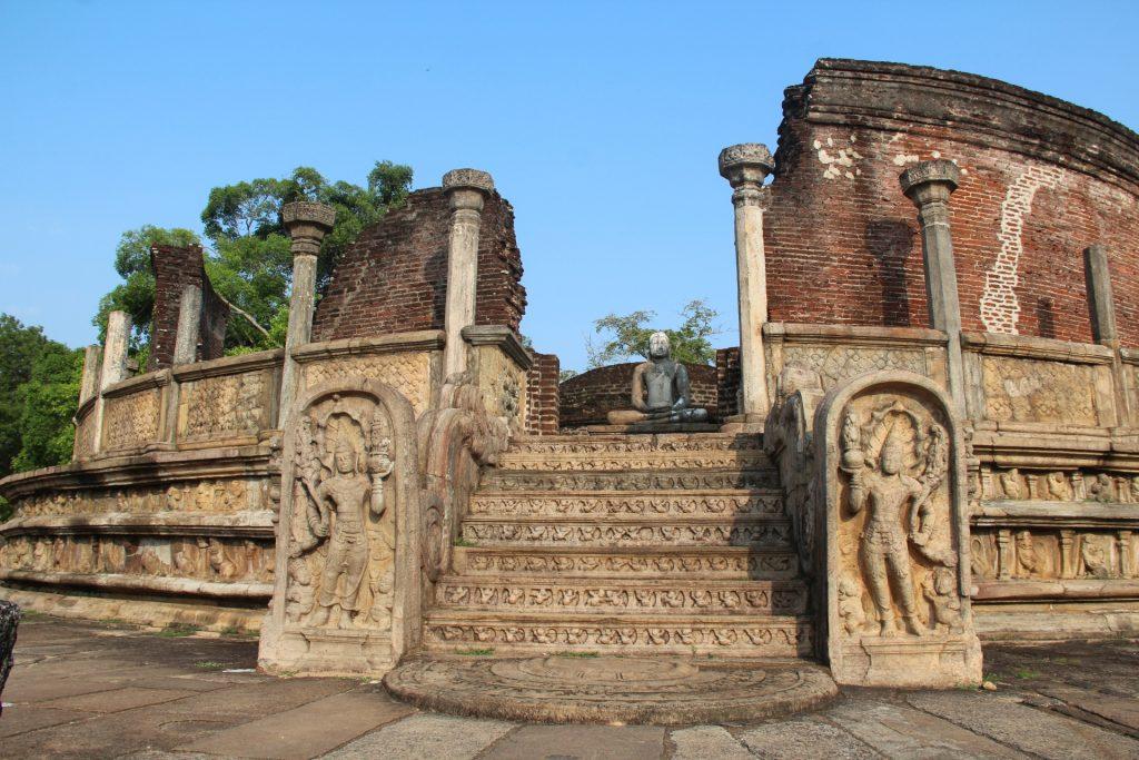 polonnaruwa antica capitale dellos ri lanka