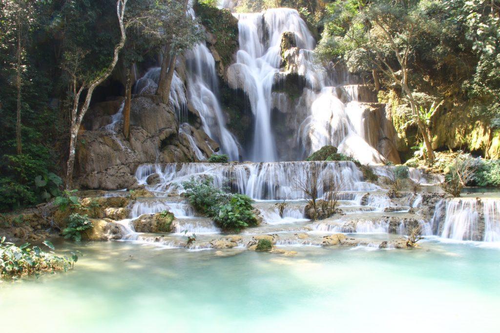 cascate di kuang si, le cascate più grandi