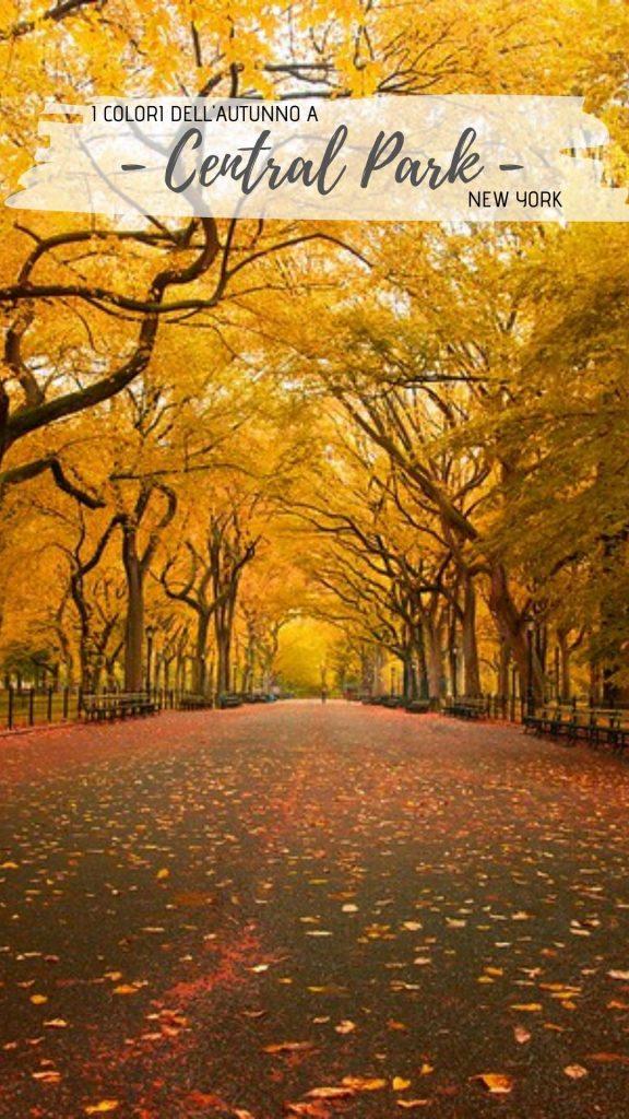 autunno a central park