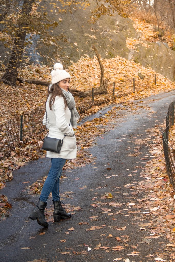 free soul on the road - elisabetta frega a central park in autunno