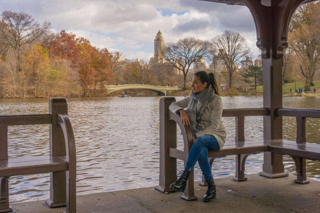 free soul on the road, elisabetta frega travel blogger a central park