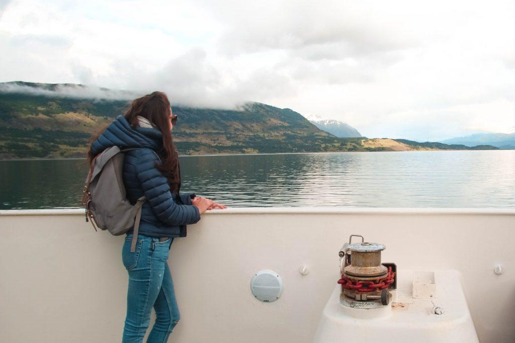 elisabetta frega - free soul on the road, verso i ghiacciai serrano e balmaceda