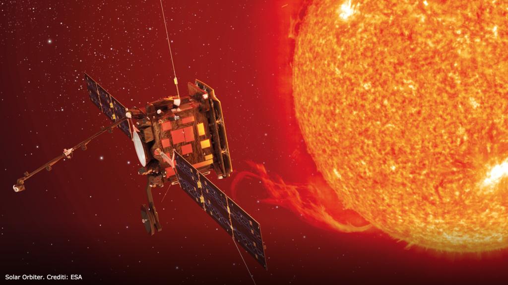 Una giornata all'ESA -  solar orbiter