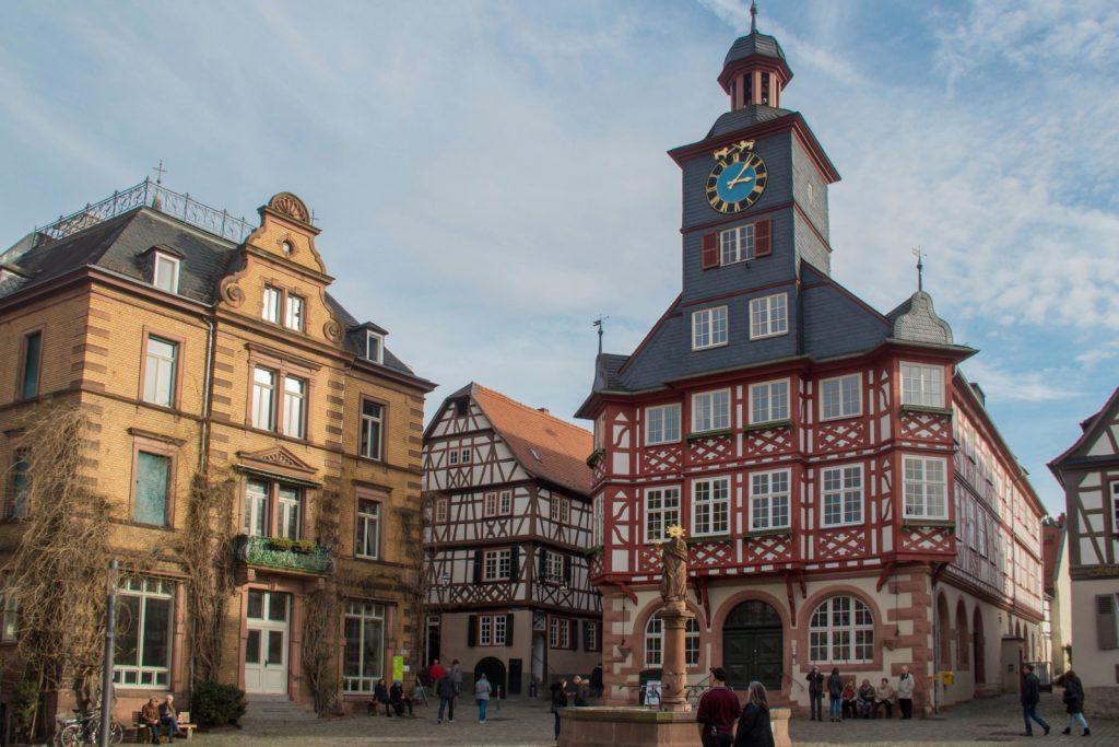 visitare heppenheim, ma piazza principale