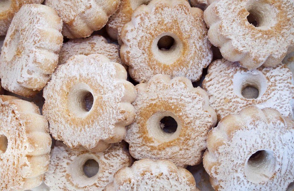 canestrelli - dolce tipico ligure