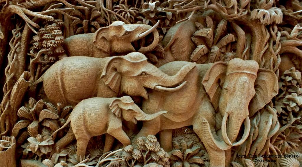 souvenir dalla thailandia, prodotti di artigianato locale