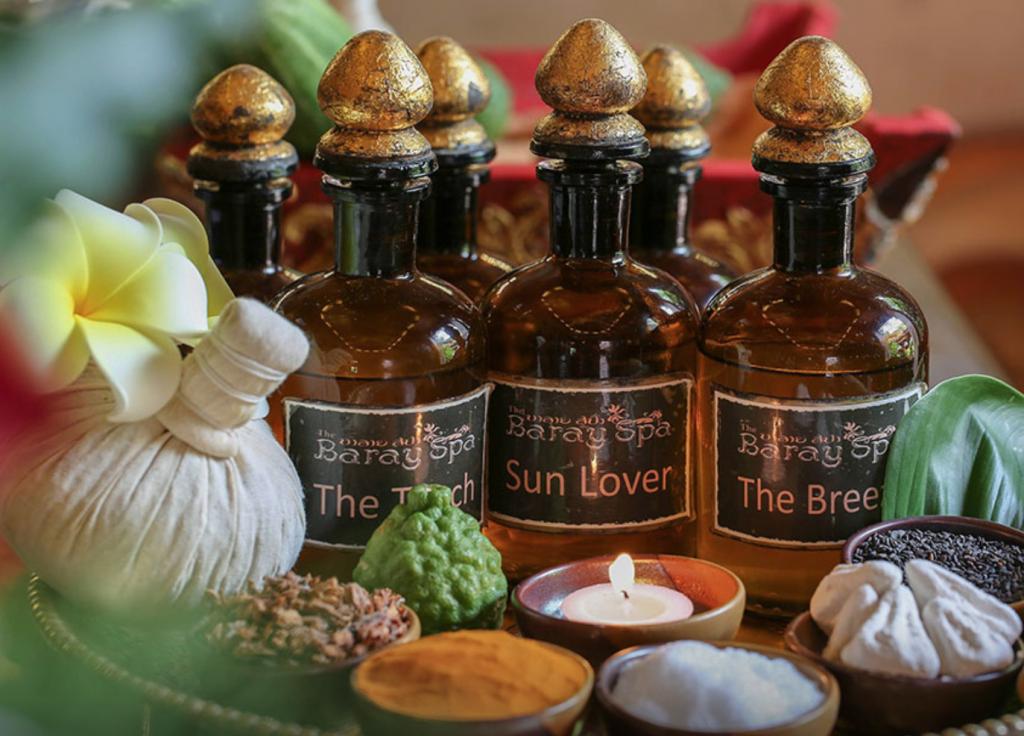 souvenir dalla thailandia - prodotti da spa, oli essenziali