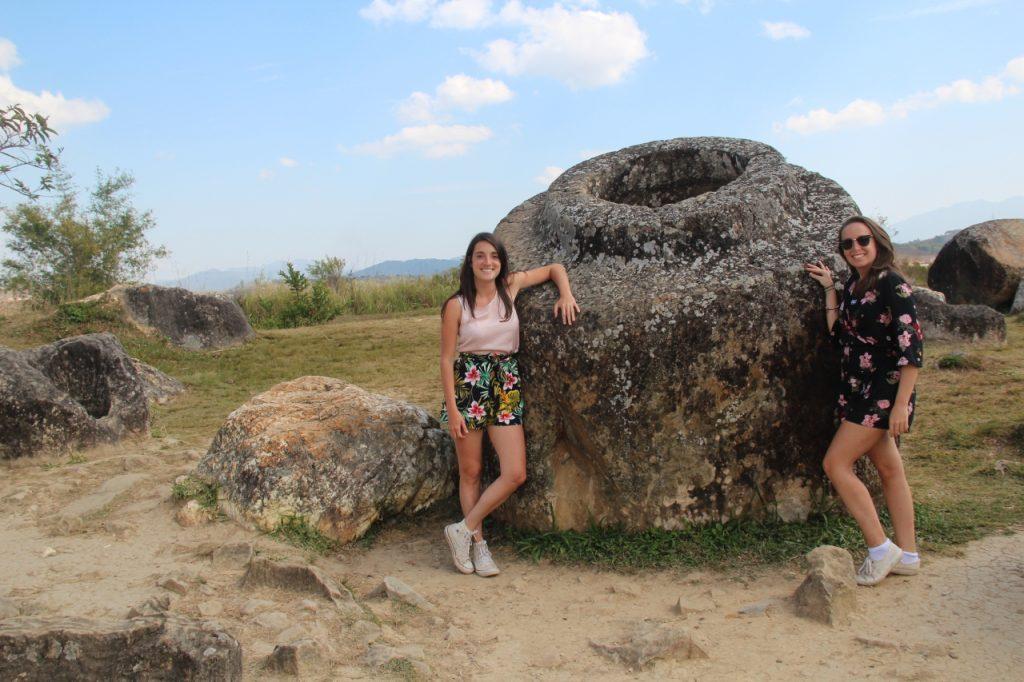 io e la mia amica gio nella piana delle giare sito 1