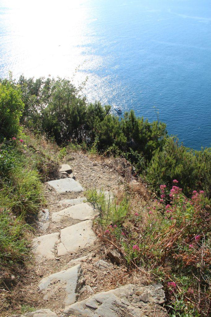 sentiero panoramico per manarola